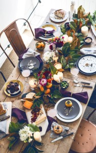 Thanksgiving Table Roundup via Abbey Carpet of SF