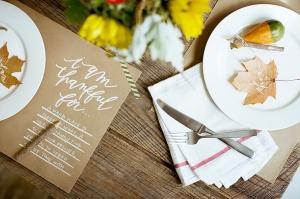 Thanksgiving Table Roundup via Abbey Carpet of SF