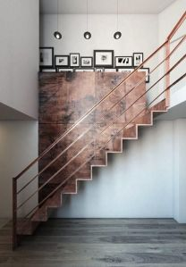 Crushing on Copper via Abbey Carpet of SF
