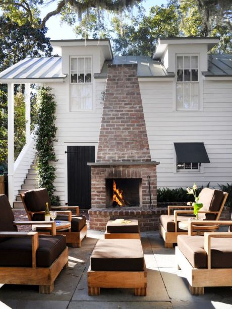 Spring Inspired Outdoor Spaces via Abbey Carpet of SF