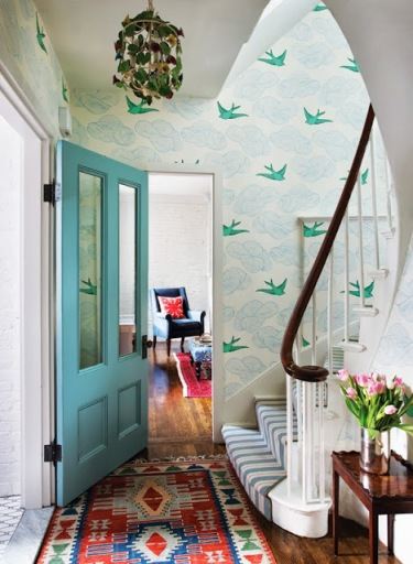 Bright & Inviting Entryways via Abbey Carpet of SF