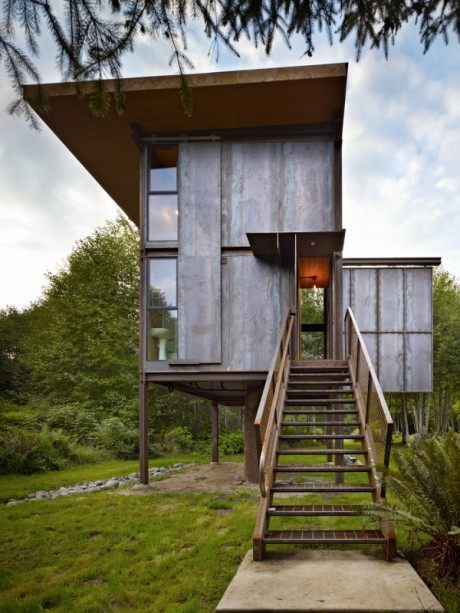 7 Crafty Cabins via Abbey Carpet of SF