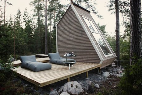 7 Crafty Cabins via Abbey Carpet of SF