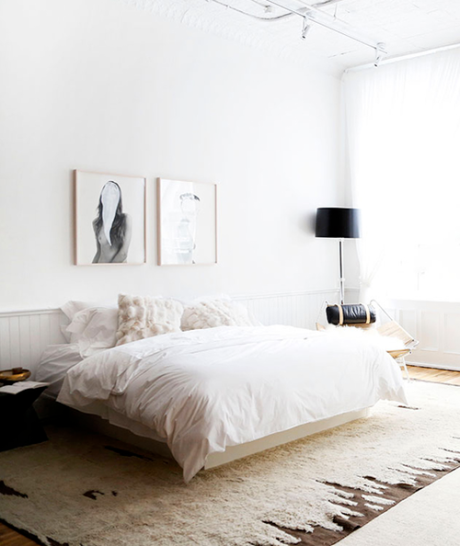 Beautiful Simplicity: Bedrooms via Abbey Carpet of SF