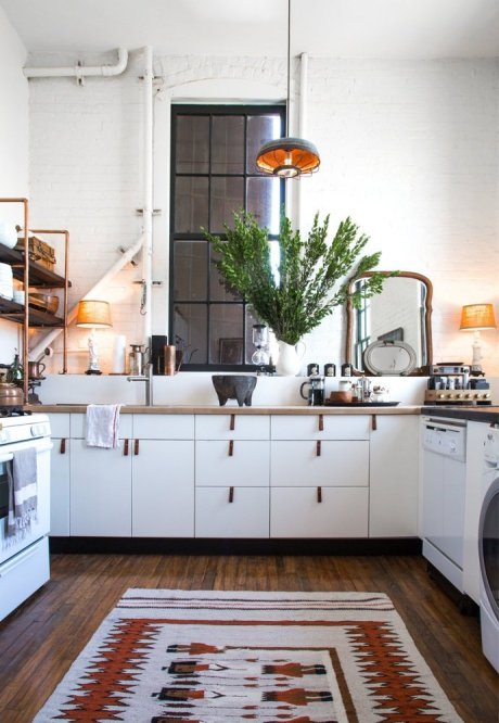 6 Kitchens with Envy-Worthy Rugs via Abbey Carpet SF