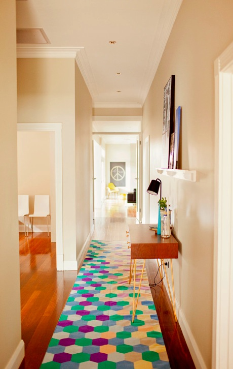Hallway Heaven via Abbey Carpet of SF