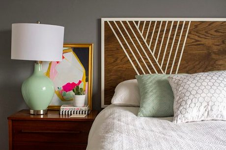 Headboard Envy via Abbey Carpet of SF