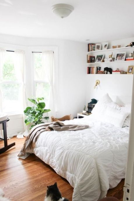 Airy Bedroom Envy via Abbey Carpet of SF